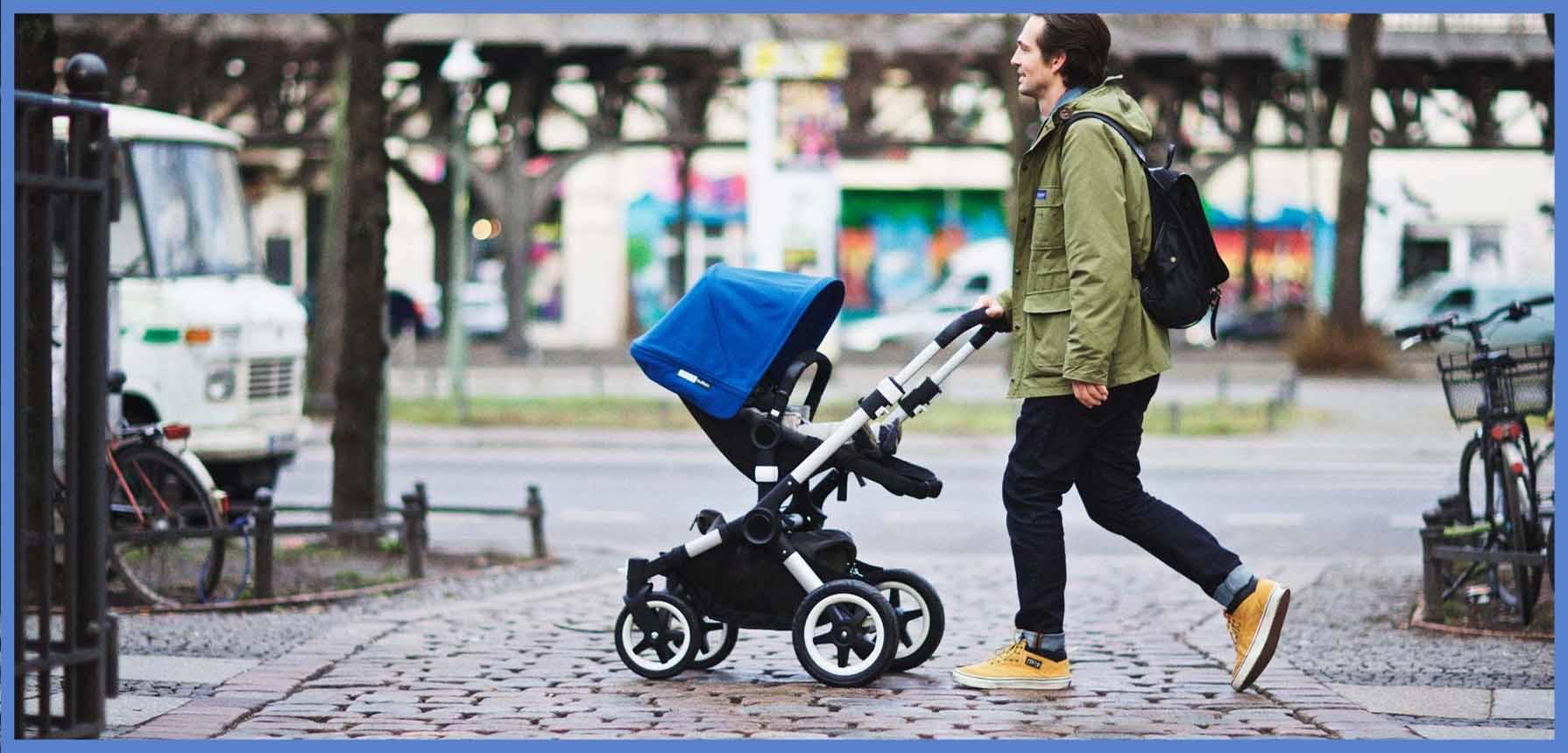papa-paseando-con-su-carrito-de-bebe-comprado-en-piecitos-yuncos